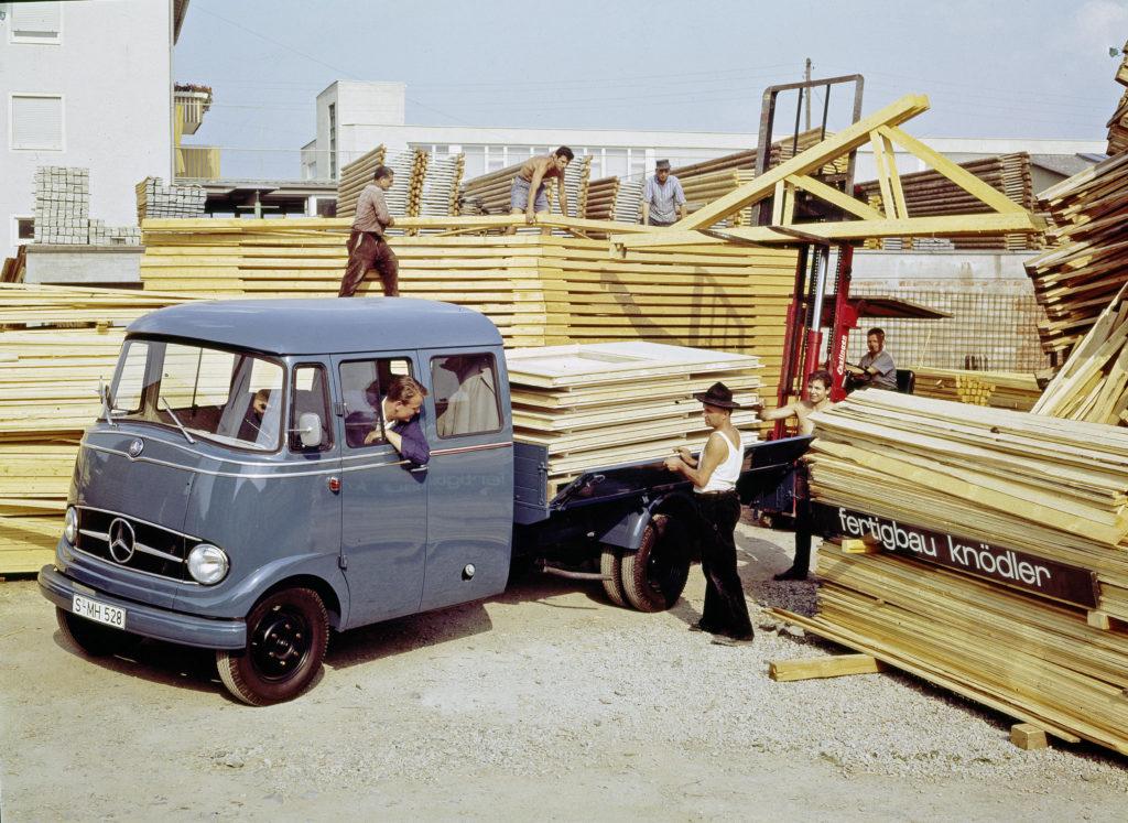 Mercedes-Benz L 319: Der erste Transporter mit Stern